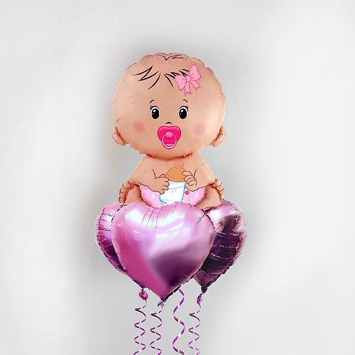 "Balloons Bouquet ""Baby"""