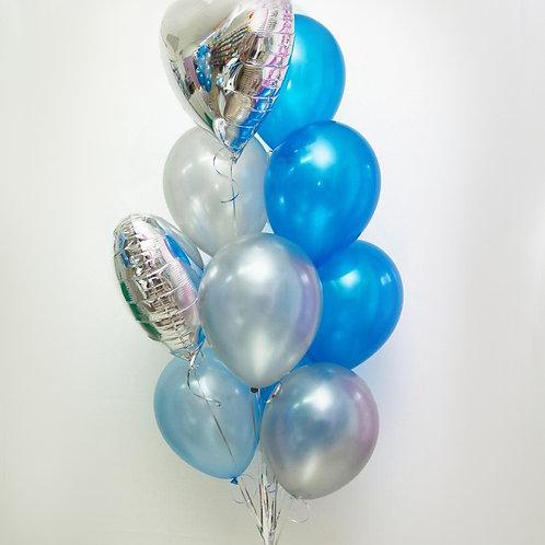 """Balloons Bouquet """"Light Love"""""""
