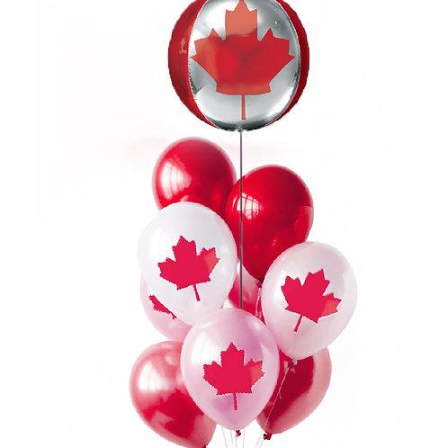 """Balloons Bouquet """"Canada #2"""""""
