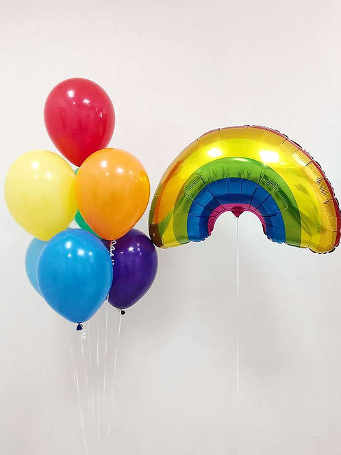 "Balloons Bouquet ""Rainbow"""