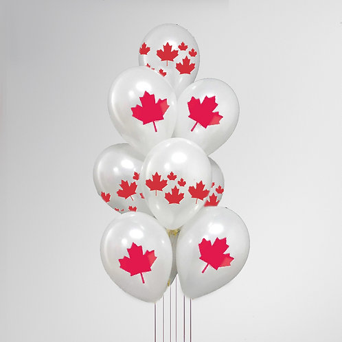 """Balloons Bouquet """"Canada #3"""""""