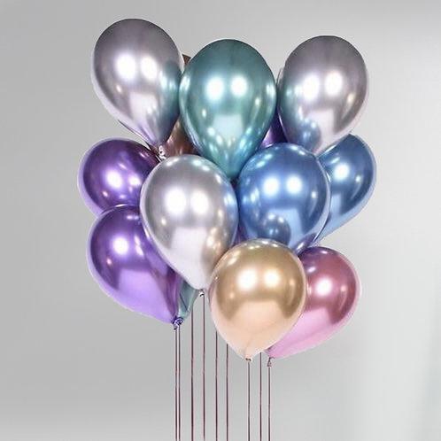"Balloons Bouquet ""Chrome Mix"""