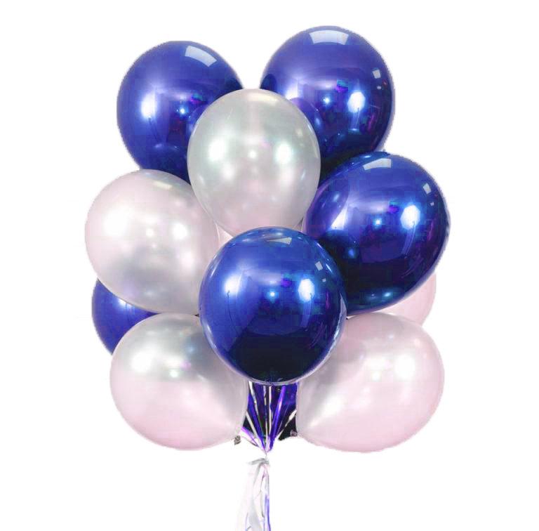 "Balloons Bouquet ""Blue Lake"""