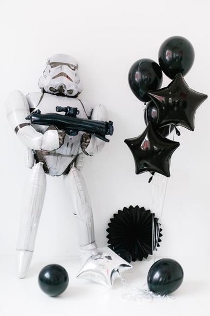 "Balloons Bouquet ""Storm Trooper"""