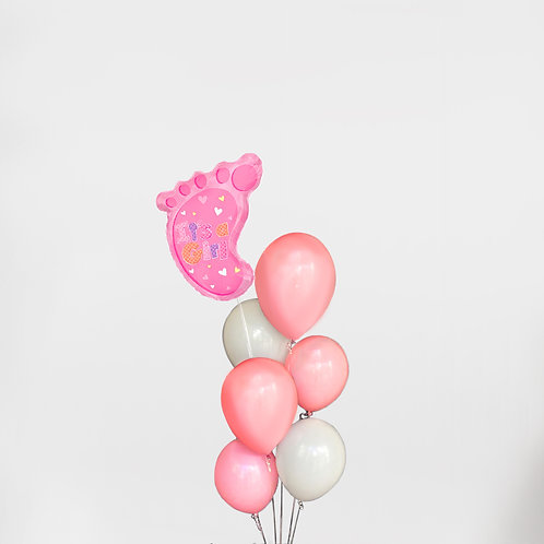 """Balloons Bouquet """"Baby Shape"""""""