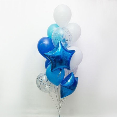 "Balloons Bouquet ""Moon Light """