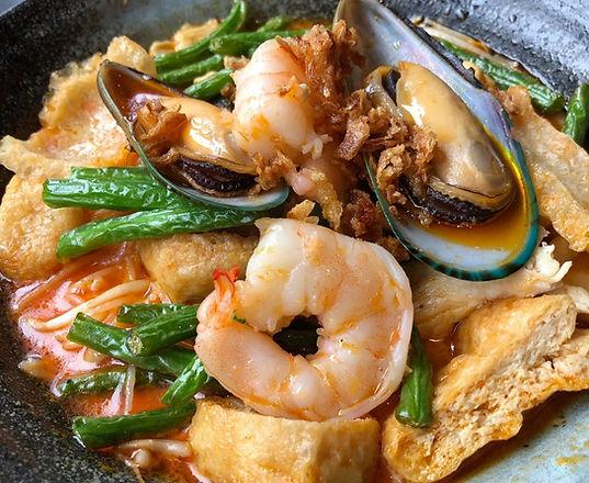 Singapore Curry Laska