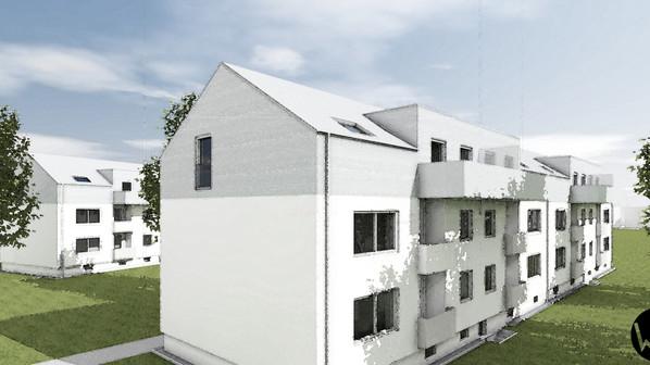 Neuer Wohnraum durch Aufstockung