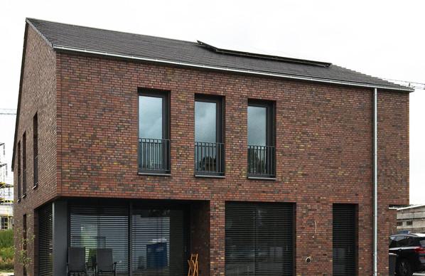Neubau eines Einfamilienhauses im Dortmunder Bergfeld fertiggestellt