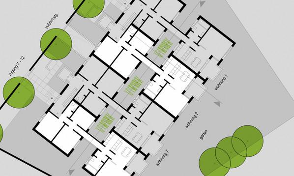 Zeitgemäßer Wohnungsbau