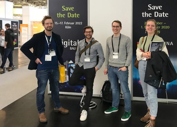 Besuch der digitalBAU 2020 in Köln