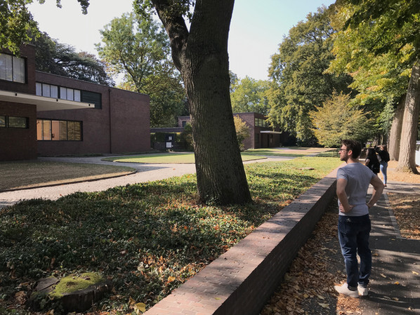 Büroexkursion 2020 - Haus Esters, Mies van der Rohe