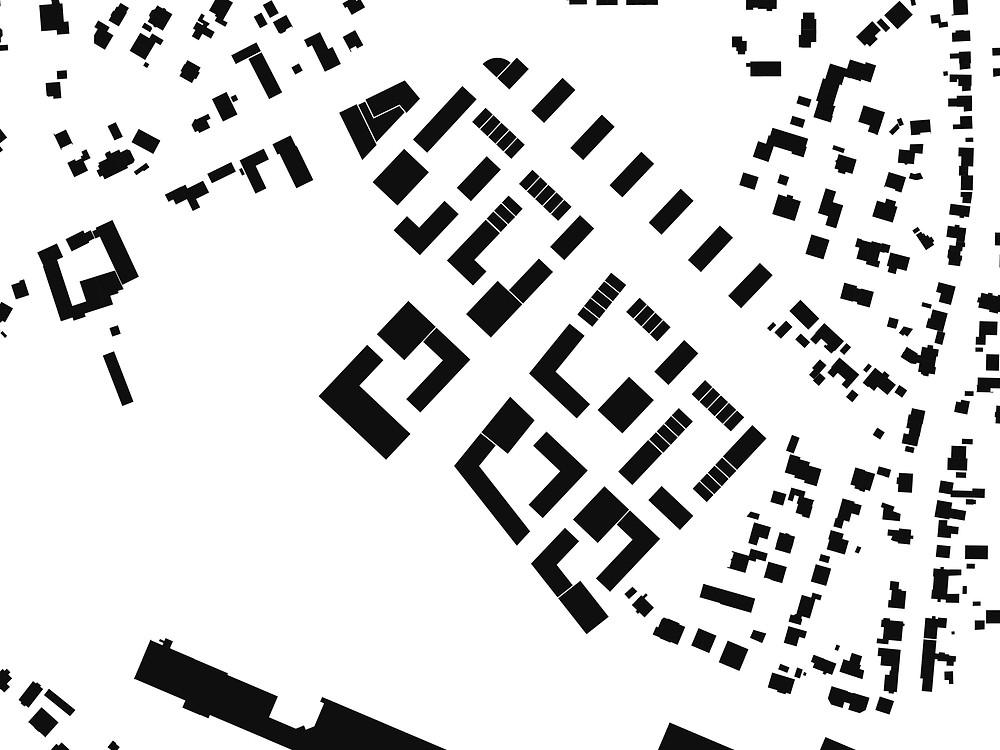 Landeswettbewerb 2019 / Schwarzplan - kirschnick architektur BDA