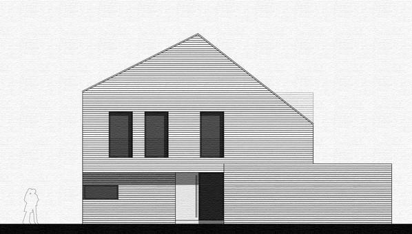 Neubau eines Einfamilienhauses im Dortmunder Süden