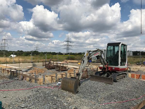 Neubau eines Einfamilienhauses im Baugebiet Bergfeld