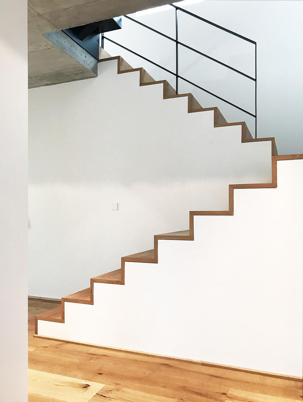 Wohnhaus in Herdecke - Treppe EG - kirschnick architektur BDA