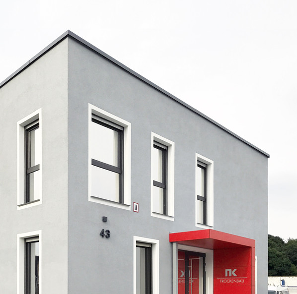 Bürogebäude im Dortmunder Hafen