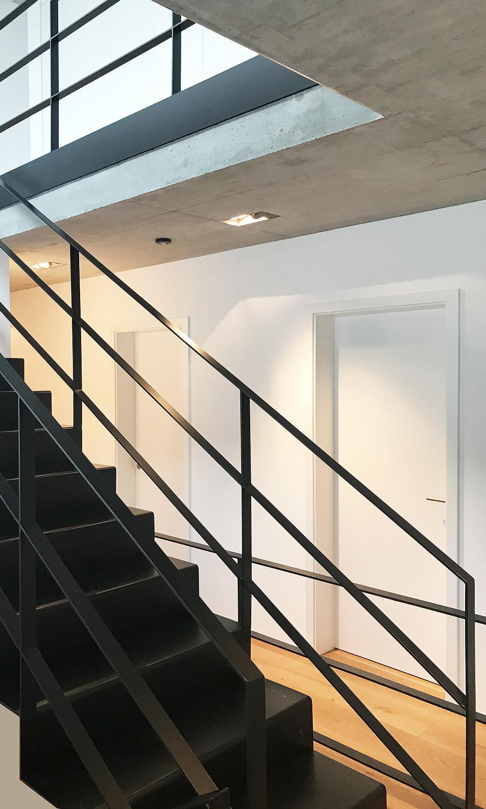 Wohnhaus in Herdecke - Treppe OG - kirschnick architektur BDA