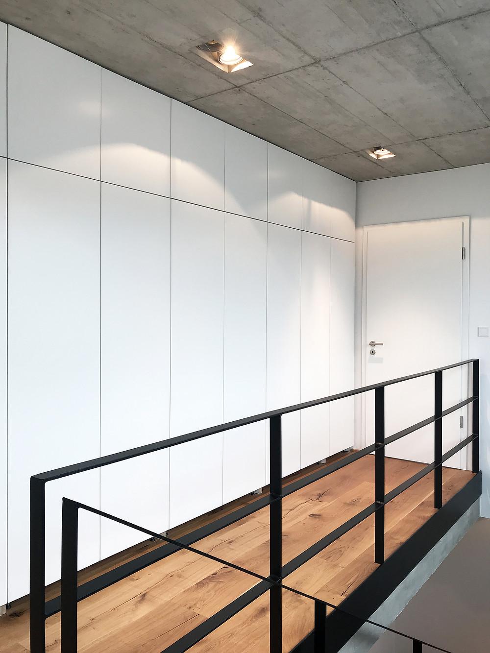 Wohnhaus in Herdecke - Flur DG - kirschnick architektur BDA