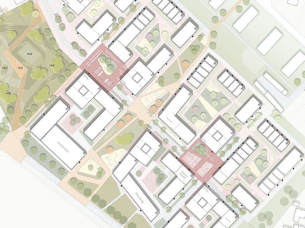 Landeswettbewerb 2019 / Lageplan - kirschnick architektur BDA