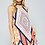 Thumbnail: Sleeveless Tribal Pattern Dress