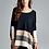 Thumbnail: Color Blocking Oversized Sweater