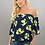 Thumbnail: Lemon Elastic Off Shoulder Top