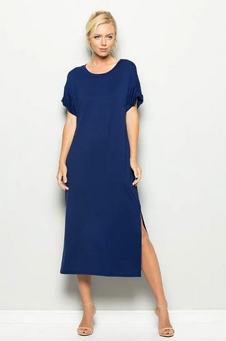 Estate Blue Maxi Dress