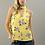 Thumbnail: Yellow Floral Choker Tank