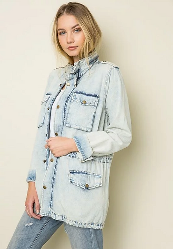 Ice Denim Jacket
