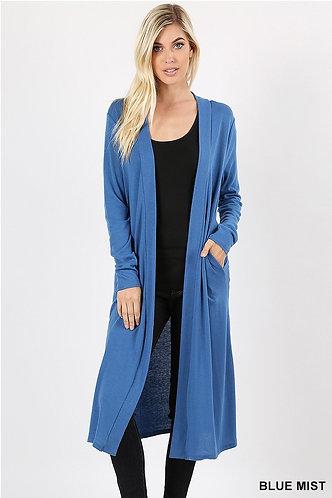 Sweater-Blue Mist