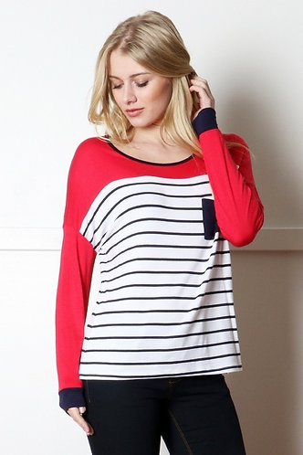 Americana Long Sleeve Top