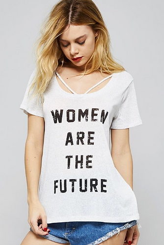 """Women Are The Future"" Top"
