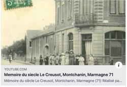 Mémoire du siècle Le Creusot, Montchanin, Marmagne 71