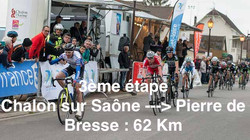Chalon/Saône >Pierre de Bresse 62Km