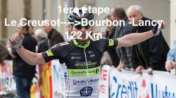 Le Creusot---->Bourbon -Lancy 122 Km