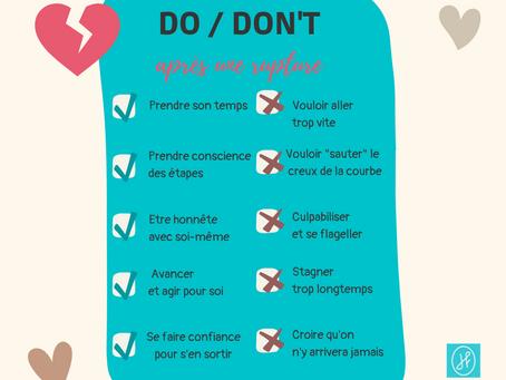 Rupture amoureuse - Ep. 2 : les 5 choses à faire/ne pas faire pour tourner la page