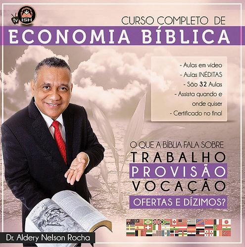 Curso de Economia Bíblica - O que a Bíblia fala sobre Trabalho, Provisão, Vocaçã