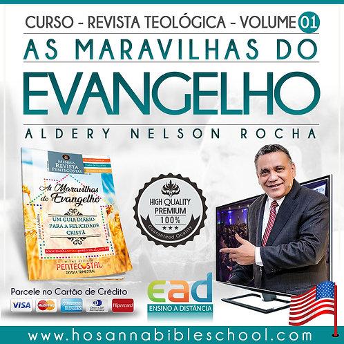 Curso - Revista Teológica Vol. 01 - As Maravilhas do Evangelho