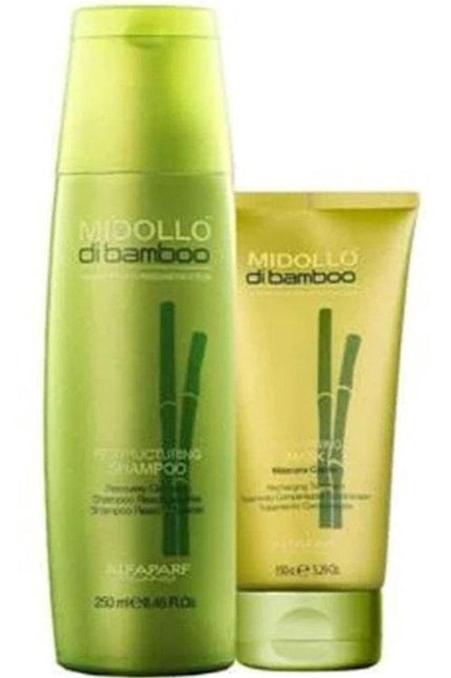 Kit de Reestruturação Express Alfaparf Midollo Di Bamboo