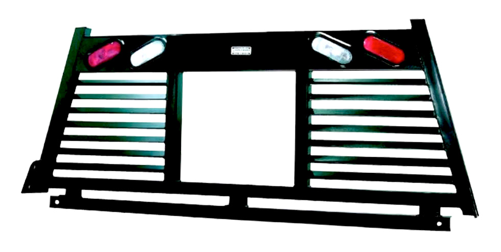 Hauler Rack with Lights Window Cut
