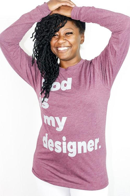 God is my designer Tees