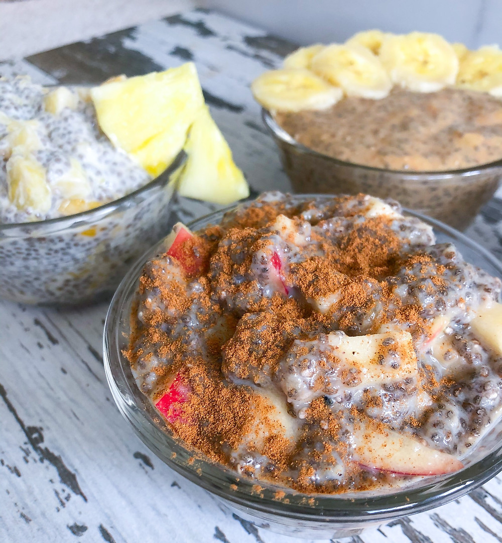 chia seed pudding healthy superfood protein