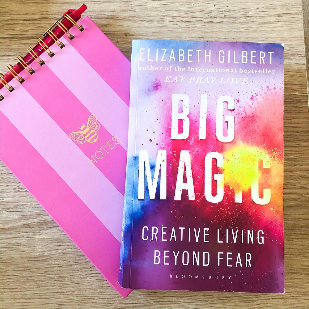 big magic elizabeth gilbert takeaways lessons inspiration motivation