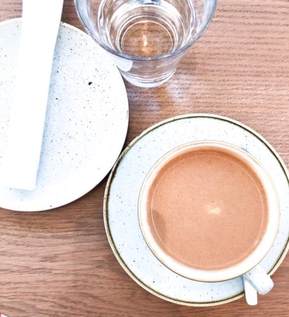 Super Mushroom Latte coffee cocoa vegan fresh expo west coffee and tea in los angeles
