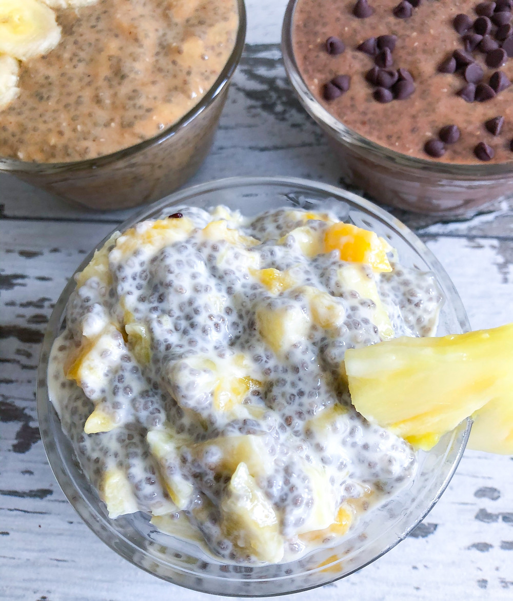 chia seed pudding protein healthy superfood