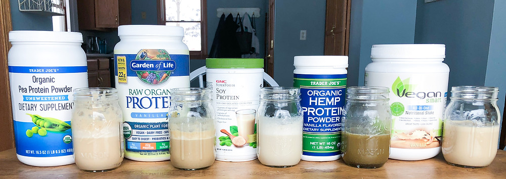 plant protein proteins powder source rice pea raw organic hemp soy