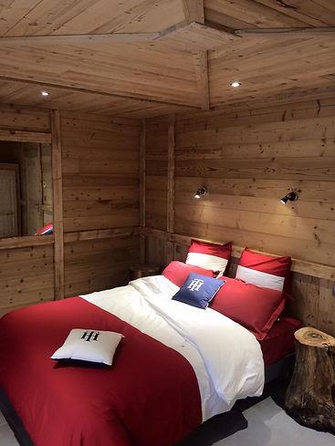 chalet Le Prestige location montagne spa sauna  séjour vélo
