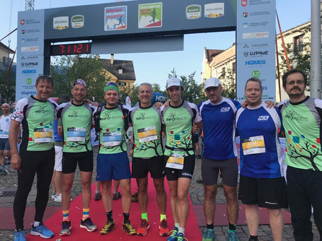 I nostri atleti alla maratona delle Dolomiti   Unsere Läufer beim Brixen Dolomiten Marathon