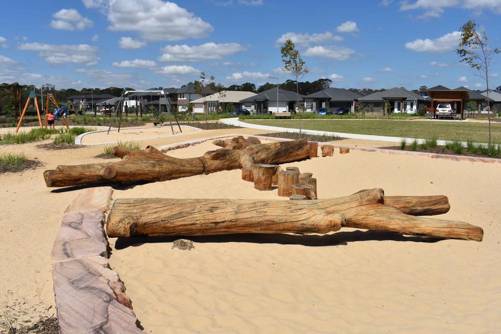 Willowdale Log Playground